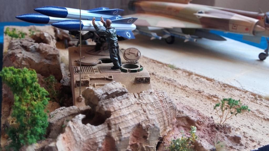 diorama what-if super kfir et M113 Hawk 1/172 italéri scratch 20211201