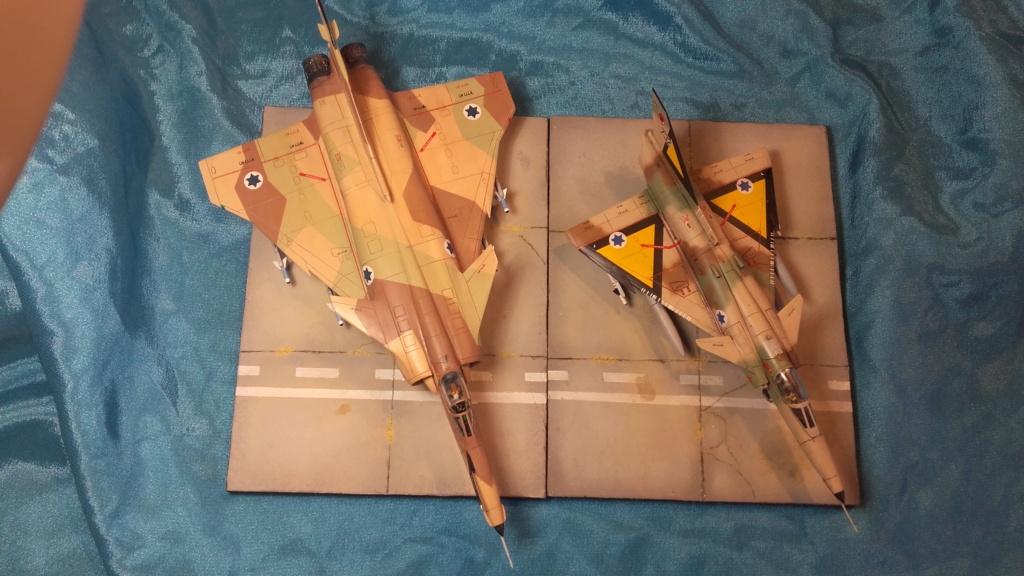 diorama what-if super kfir et M113 Hawk 1/172 italéri scratch 20211205