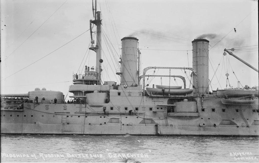Cuirassé Tsesarevitch version 1917  1/350 trumpeter Tsesar10