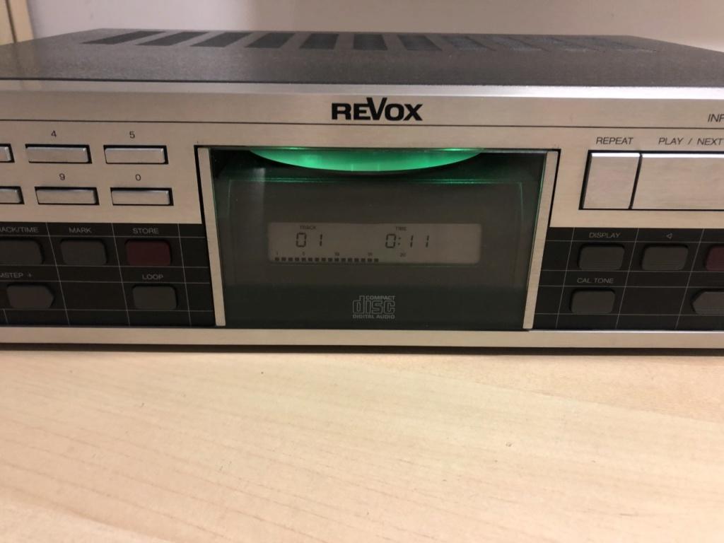 Revox B225 + Recap + Cable de red IEC Thumbn77