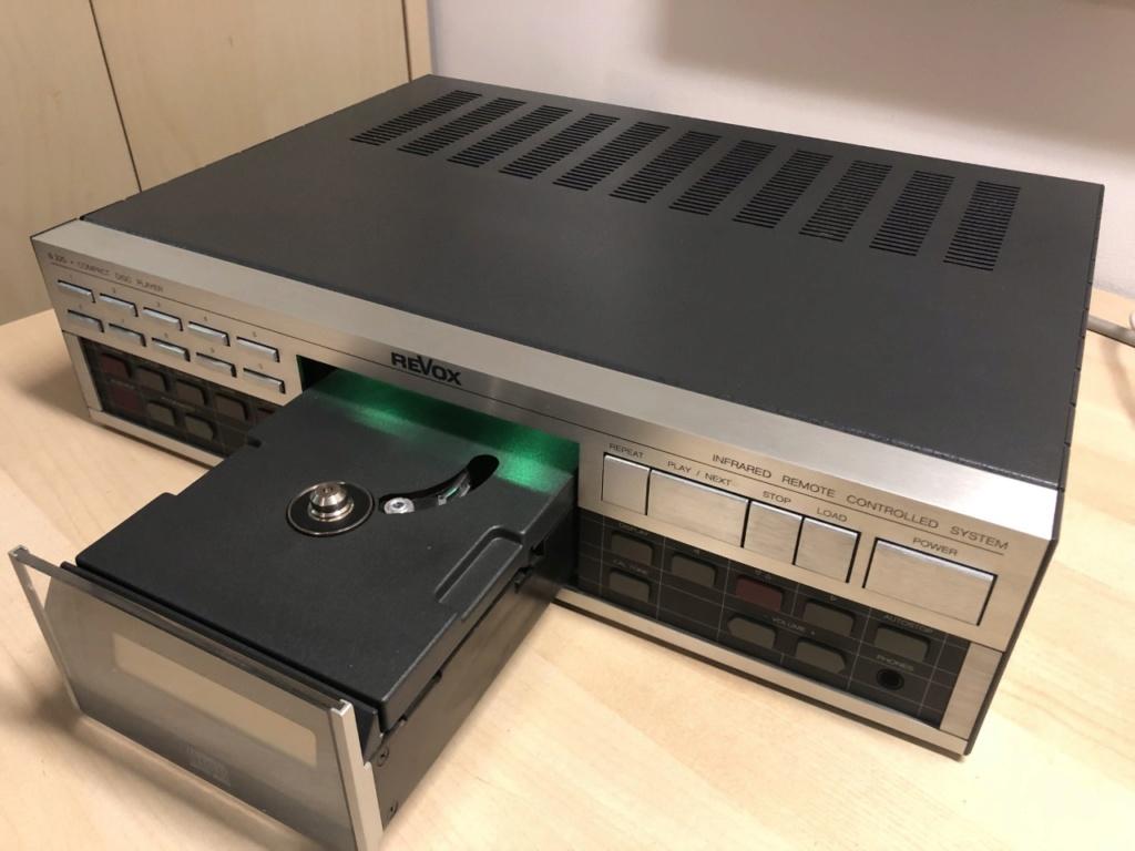 Revox B225 + Recap + Cable de red IEC Thumbn79