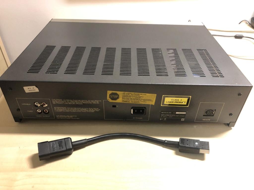 Revox B225 + Recap + Cable de red IEC Thumbn80