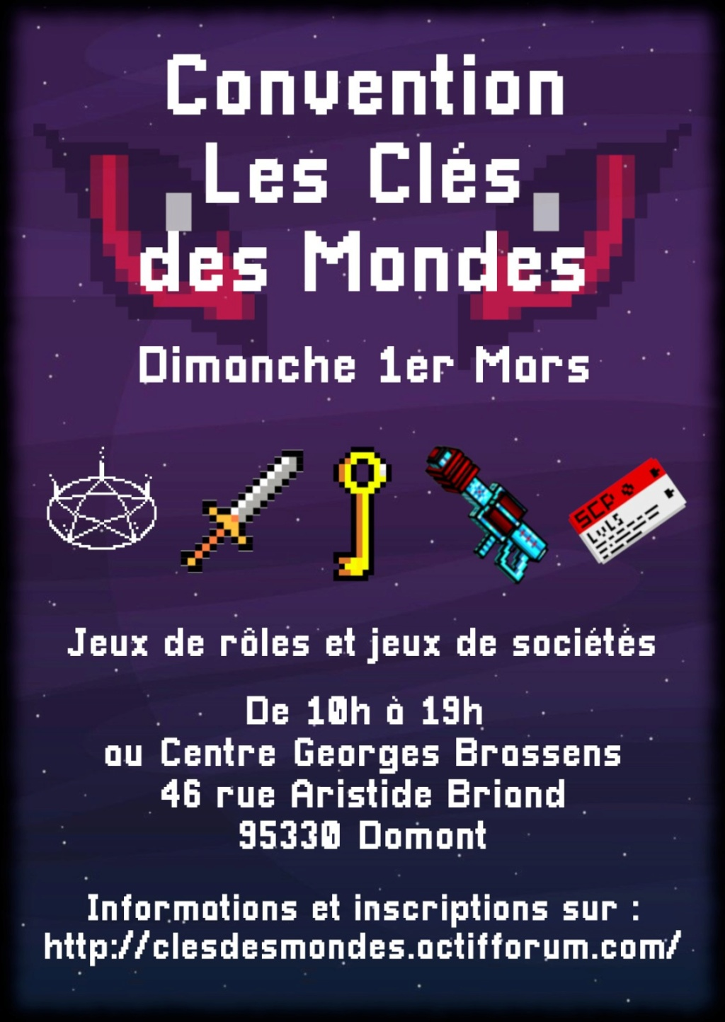 Convention Clés des mondes Flyer_17