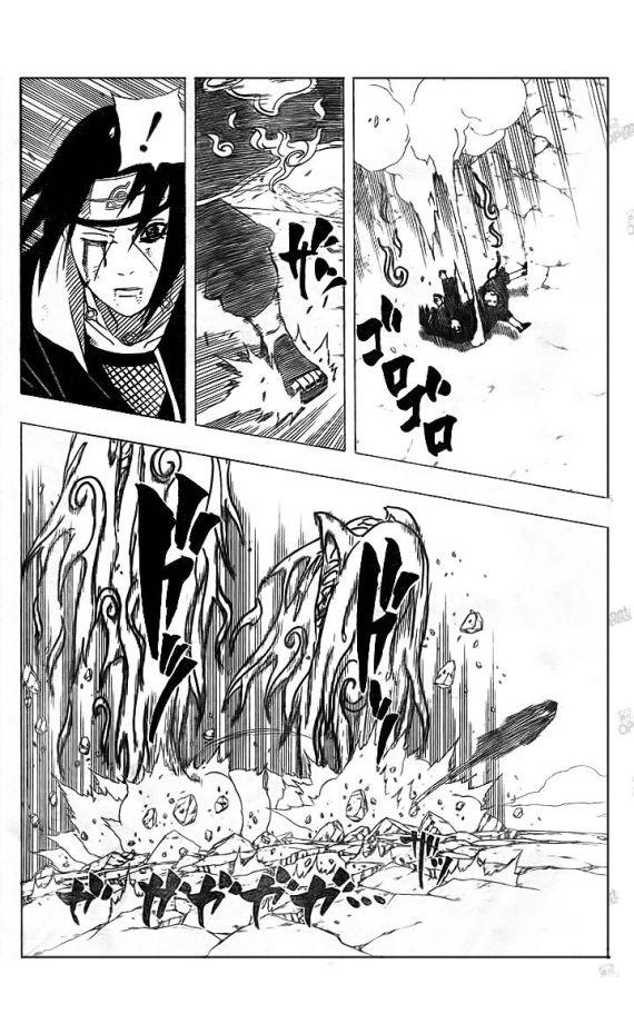 Emissao de chakra da Tsunade. Naruto76