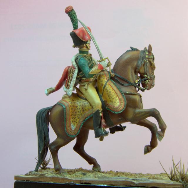Officier chasseur à cheval métal modeles Dsc_311