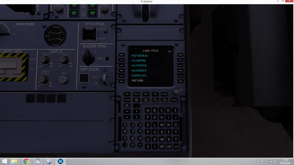 X Plane 11 et A350 flightfactor avec little navmap Captur14