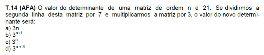 (AFA) Matriz e Determinantes Afinha10