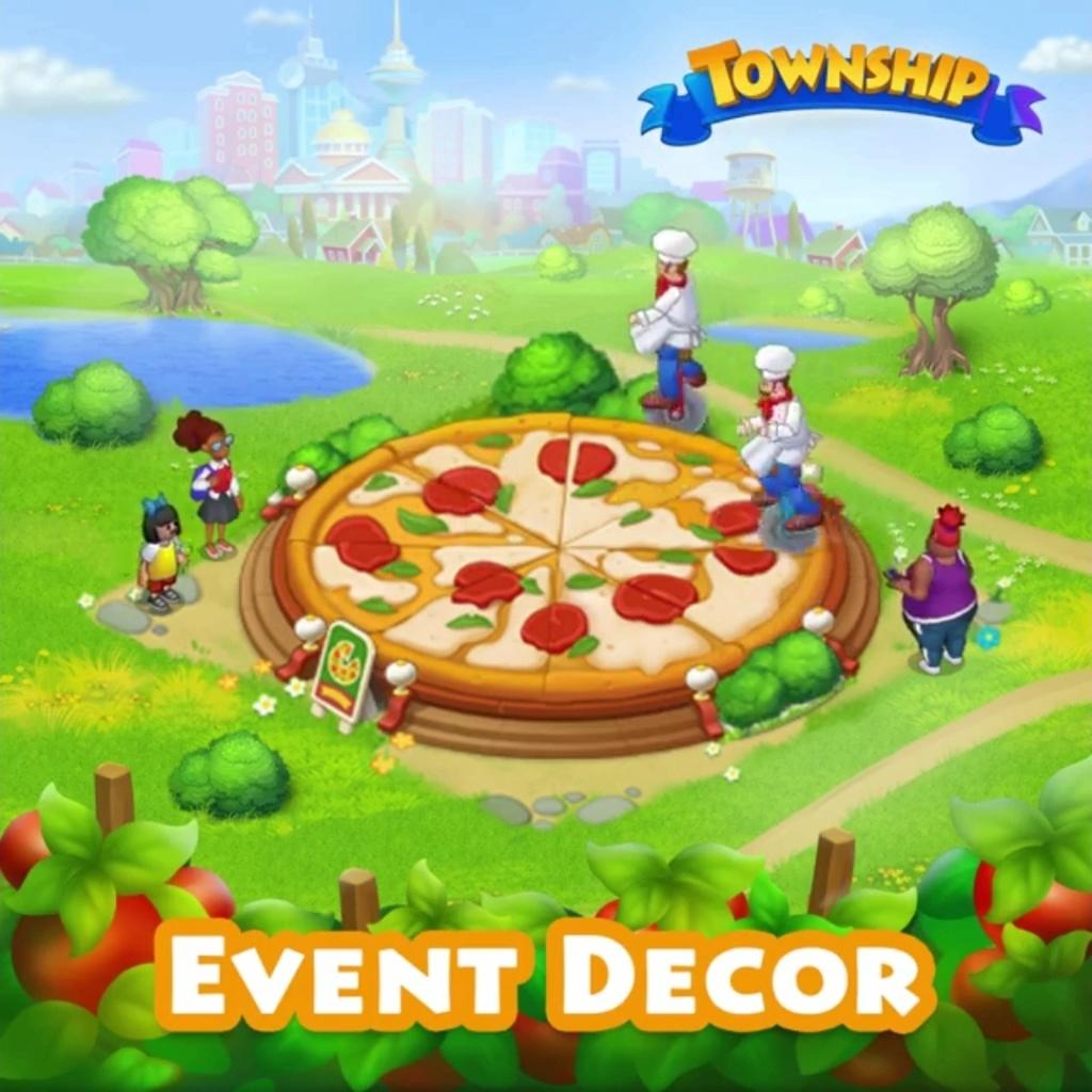The Italian week decorations Pizza10