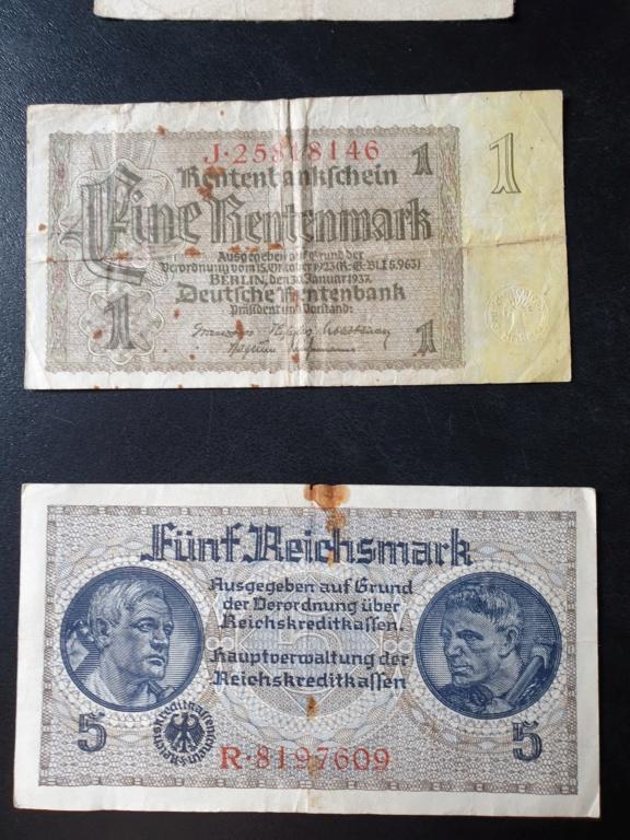 Billets allemands 20200815