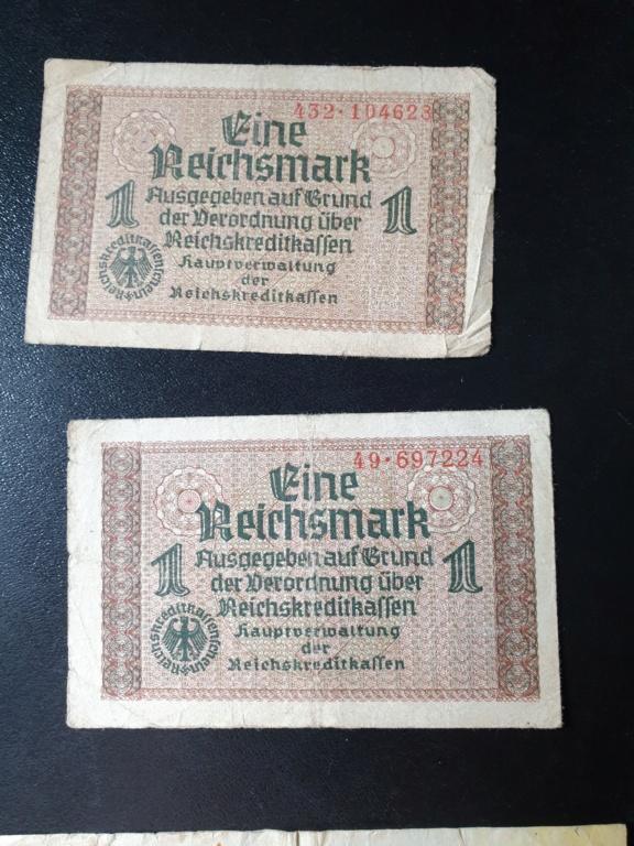 Billets allemands 20200816