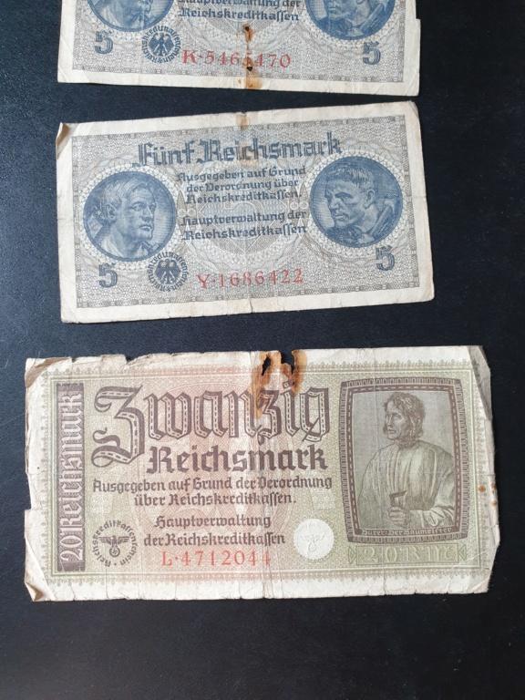 Billets allemands 20200818