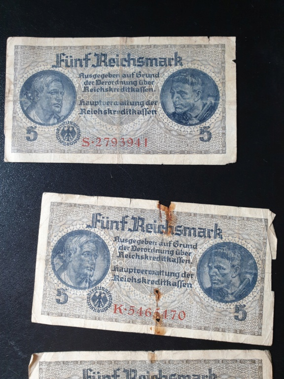 Billets allemands 20200819
