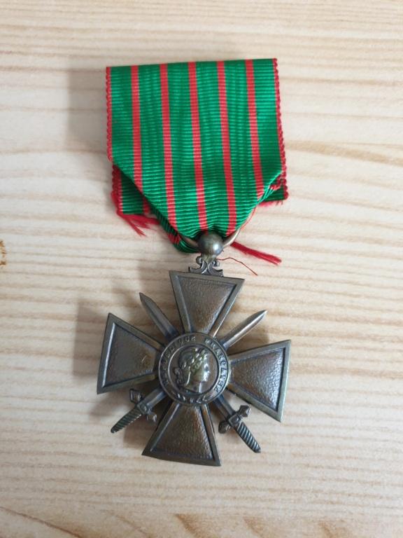 Croix de guerre 14-18  20200910