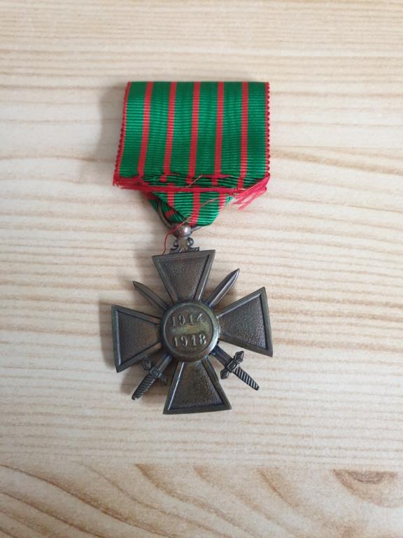 Croix de guerre 14-18  20200911