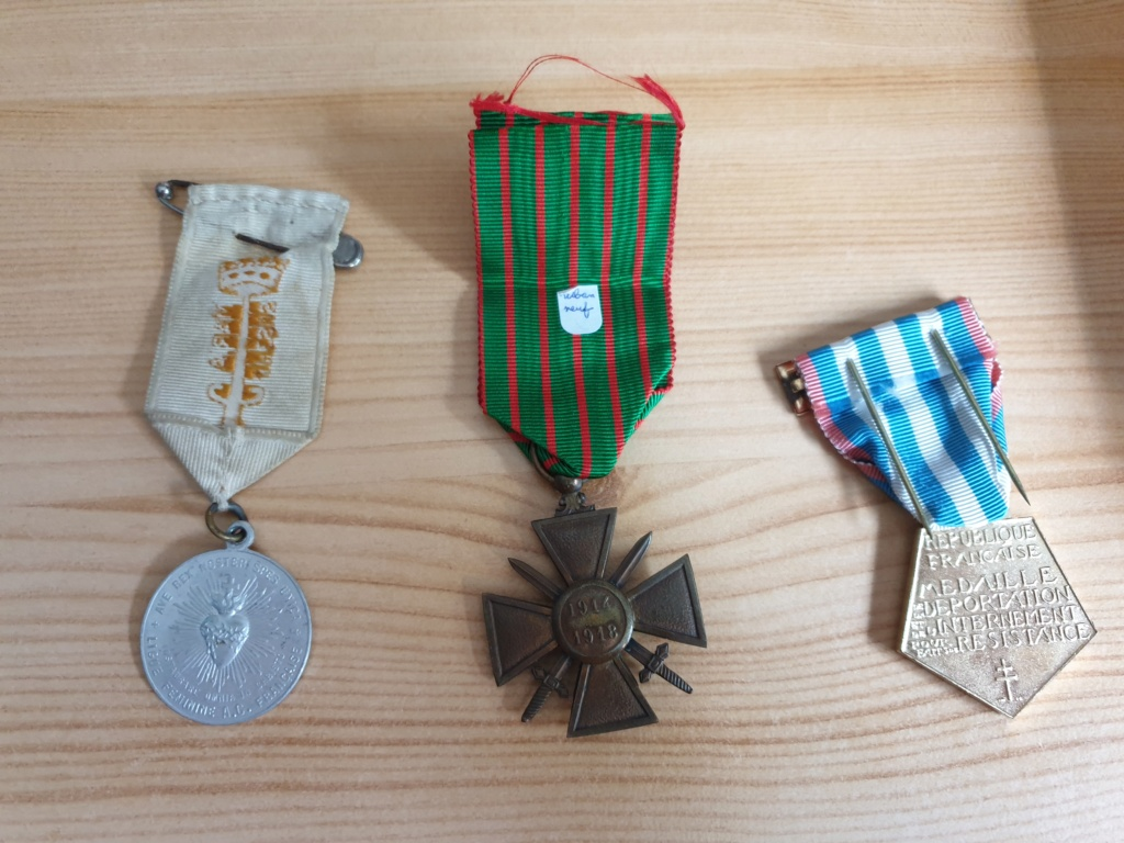 Mes medailles 20200913