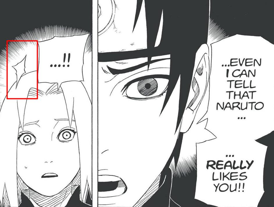 Hinata NÃO acertou o Pain no mangá. Amarca10