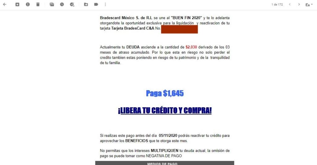 """Notificación """" Demanda de saldo $2,030"""" OCAMPO CANO y ASOCIADOS Bufete Jurídico 211"""