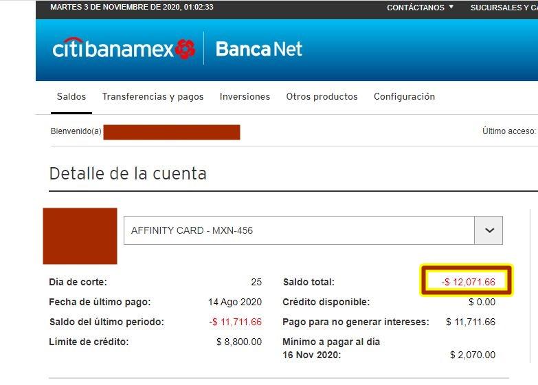 RIESGO DE DEMANDA DE BANAMEX B10