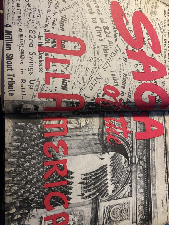 Livre Saga of All Americans  3a38e210