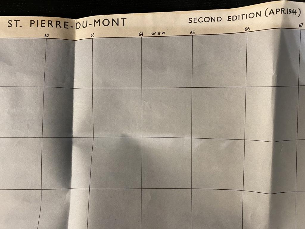 Carte Pointe du hoc et brassard US 4cc5f110