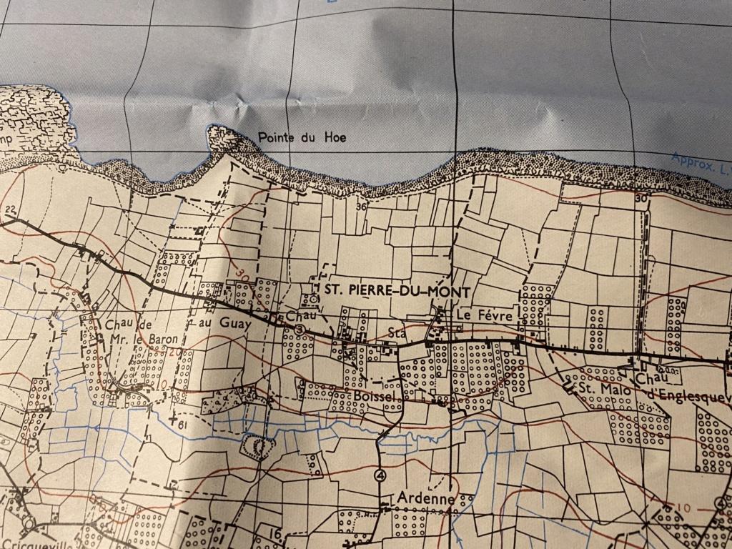 Carte Pointe du hoc et brassard US F7a15d10