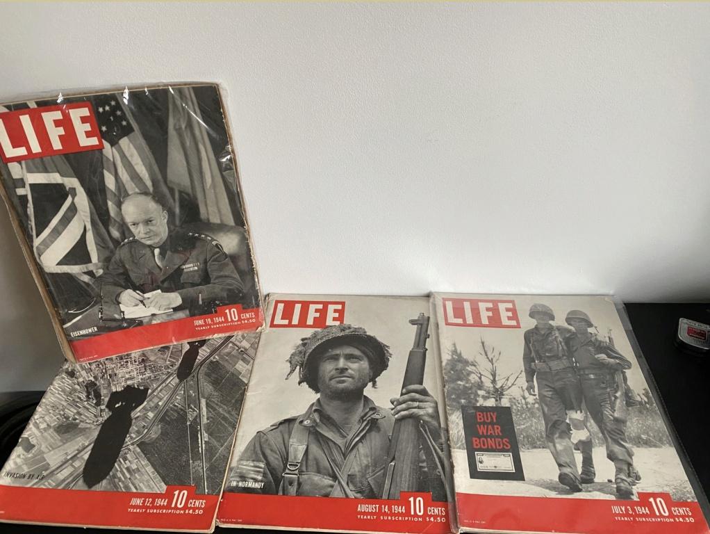 Life Magazines | Bataille de Normandie Screen21