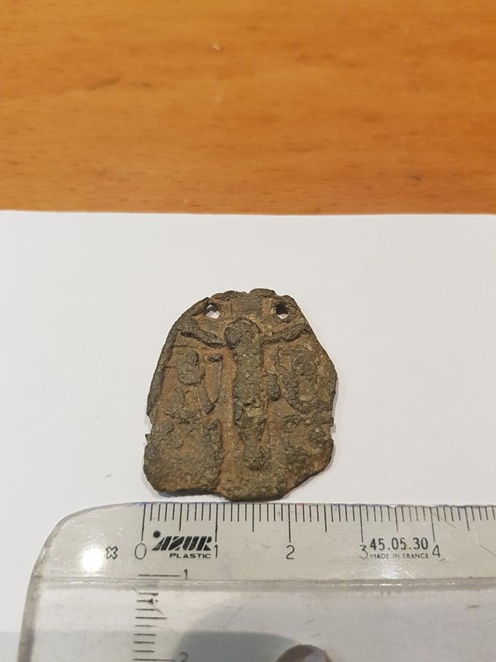 Jesús crucificado / Virgen María con Jesús Niño , S. XVI 12167910