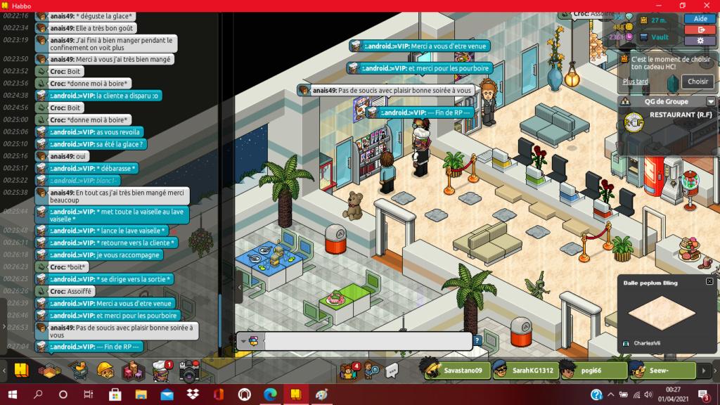 [R.] - Rapport de RP de :.android.:=VIP 619