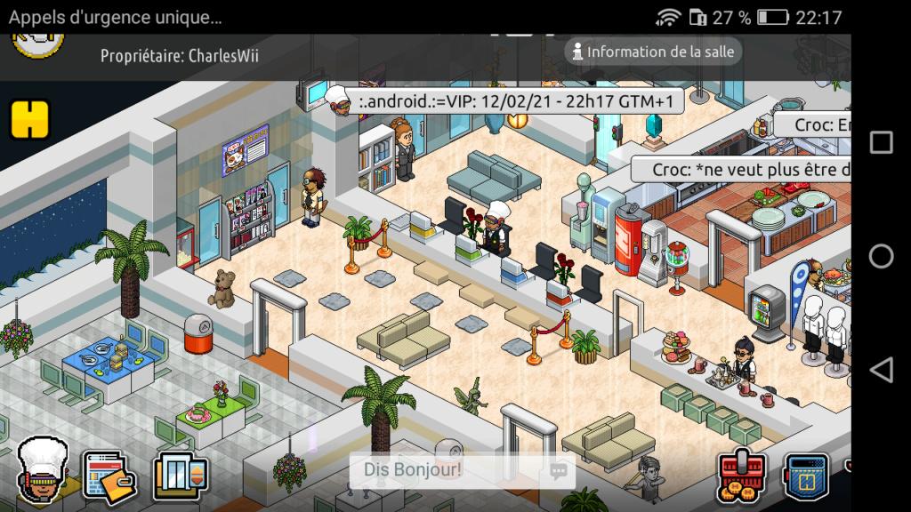 [R.] Rapport d'activité de :.Android.:=VIP Scree109