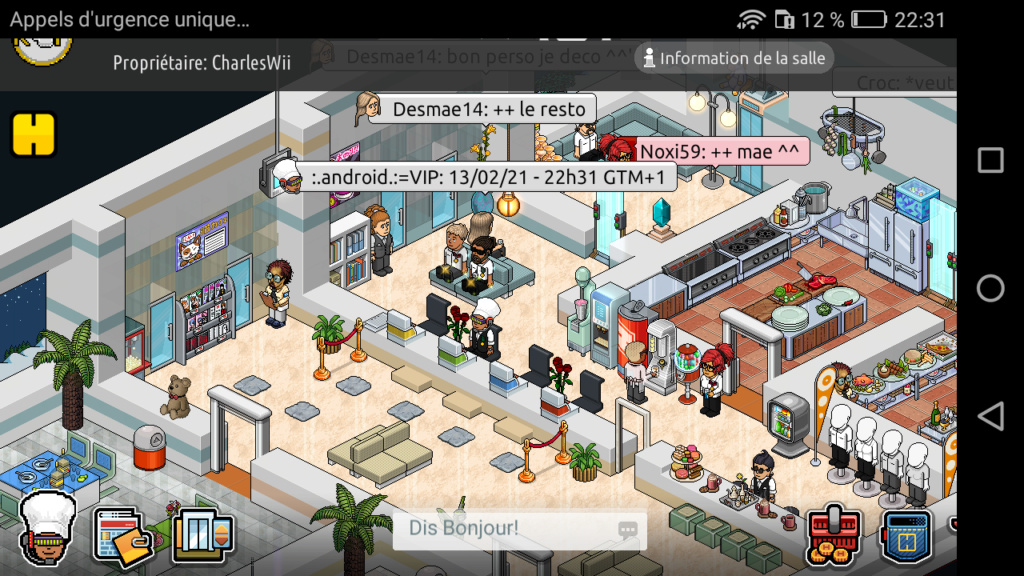 [R.] Rapport d'activité de :.Android.:=VIP Scree119