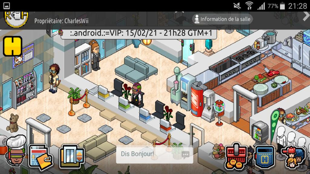 [R.] Rapport d'activité de :.Android.:=VIP Scree130