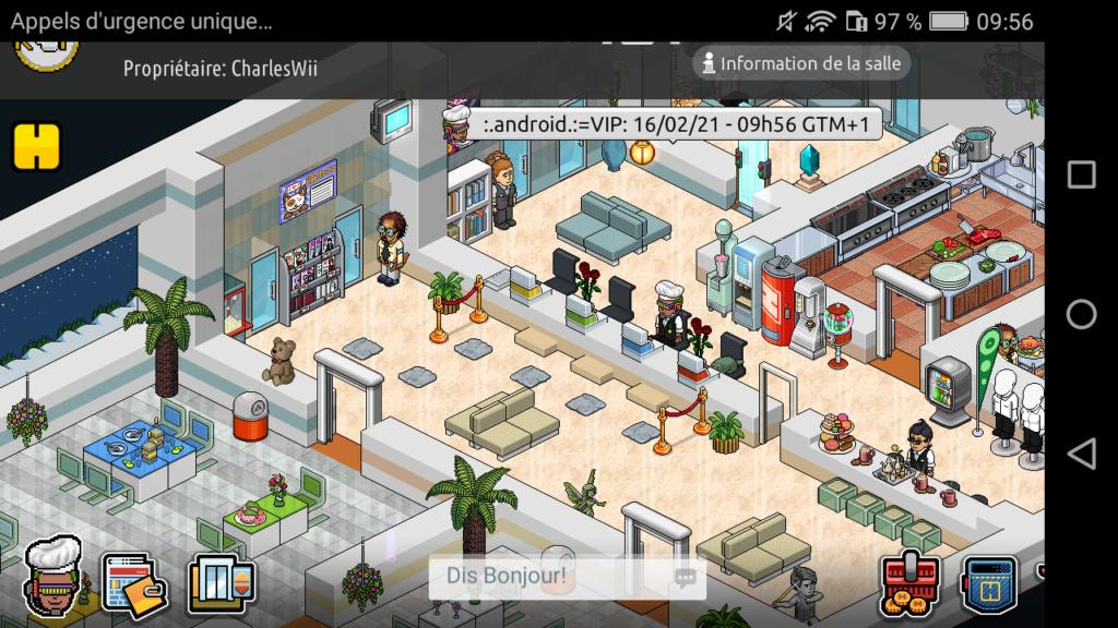 [R.] Rapport d'activité de :.Android.:=VIP Scree131