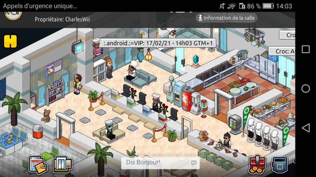 [R.] Rapport d'activité de :.Android.:=VIP Scree143