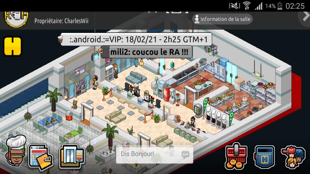 [R.] Rapport d'activité de :.Android.:=VIP Scree144