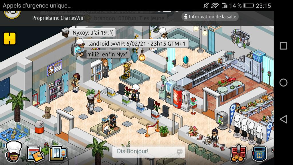 [R.] Rapport d'activité de :.Android.:=VIP Screen21