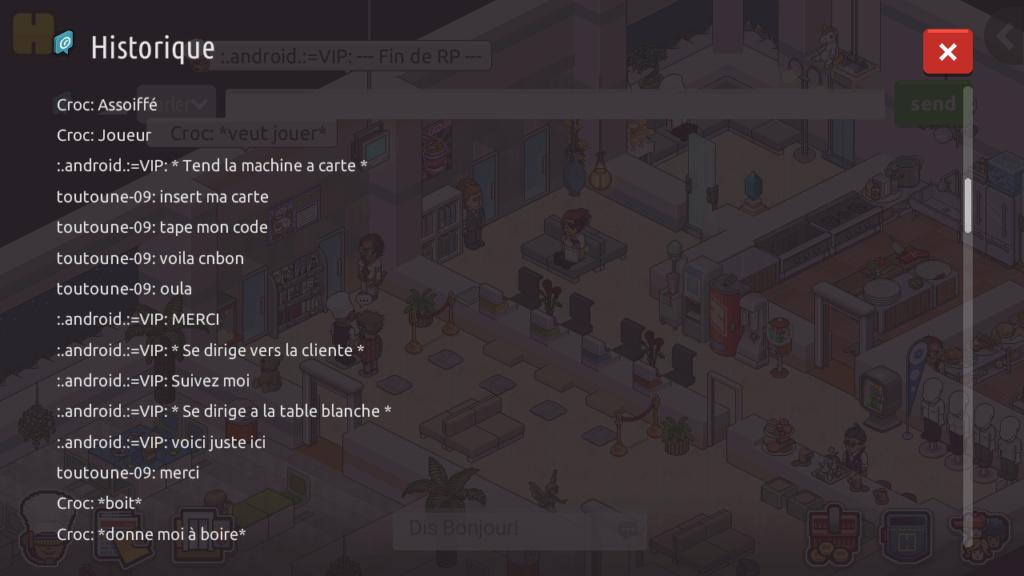 [R.] - Rapport de RP de :.android.:=VIP Screen66