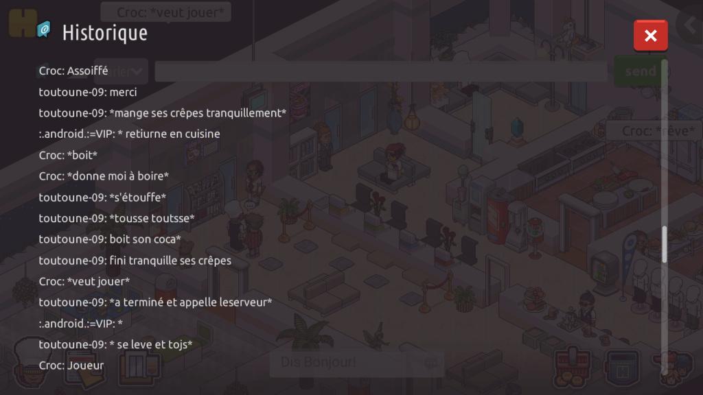 [R.] - Rapport de RP de :.android.:=VIP Screen69