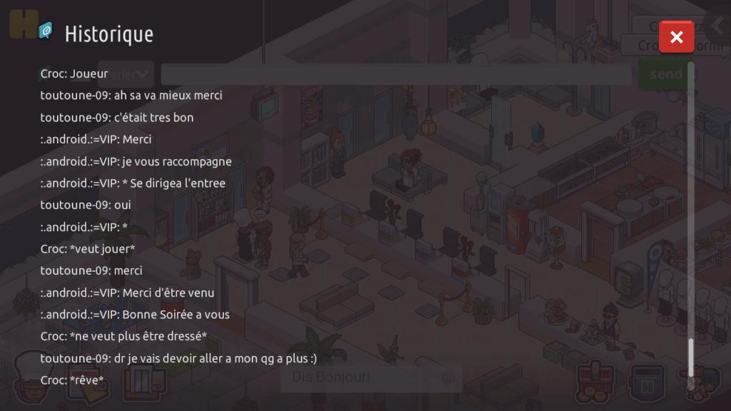 [R.] - Rapport de RP de :.android.:=VIP Screen73