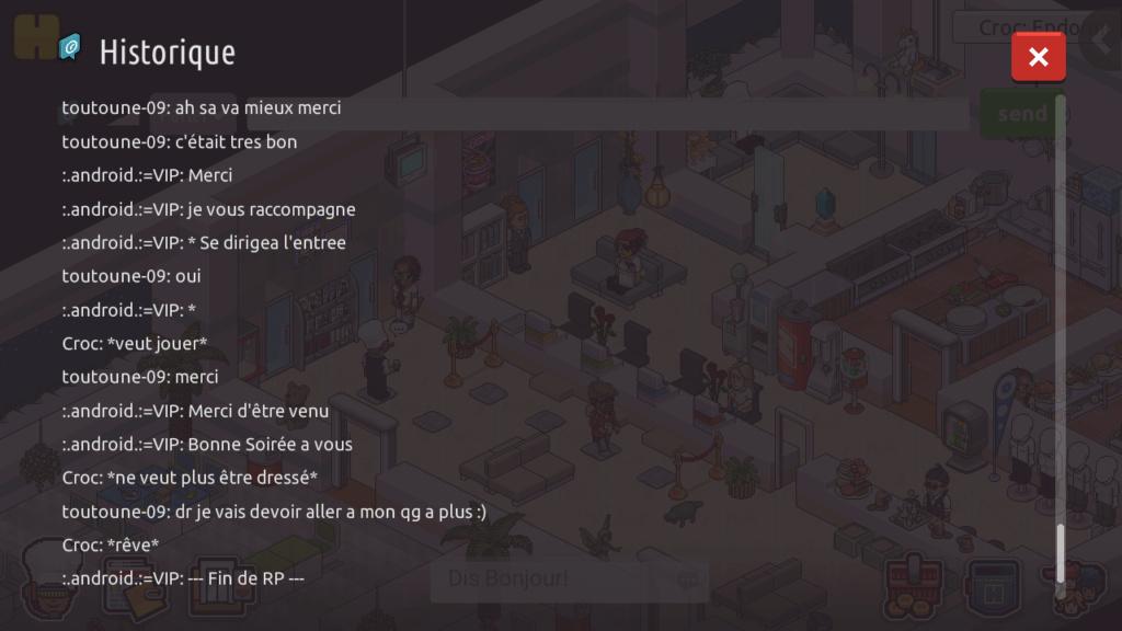 [R.] - Rapport de RP de :.android.:=VIP Screen74