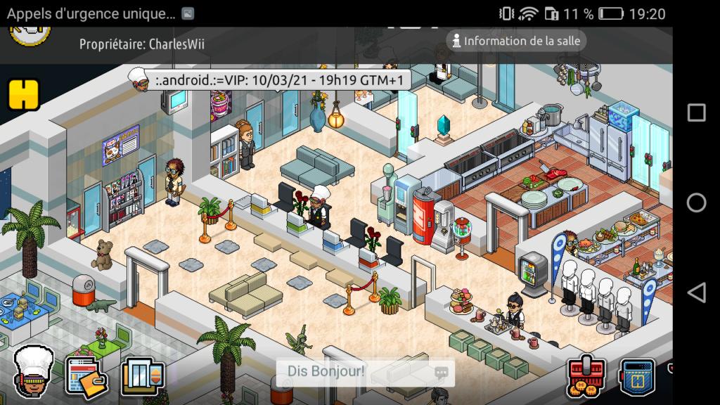 [R.] Rapport d'activité de :.Android.:=VIP Screen75