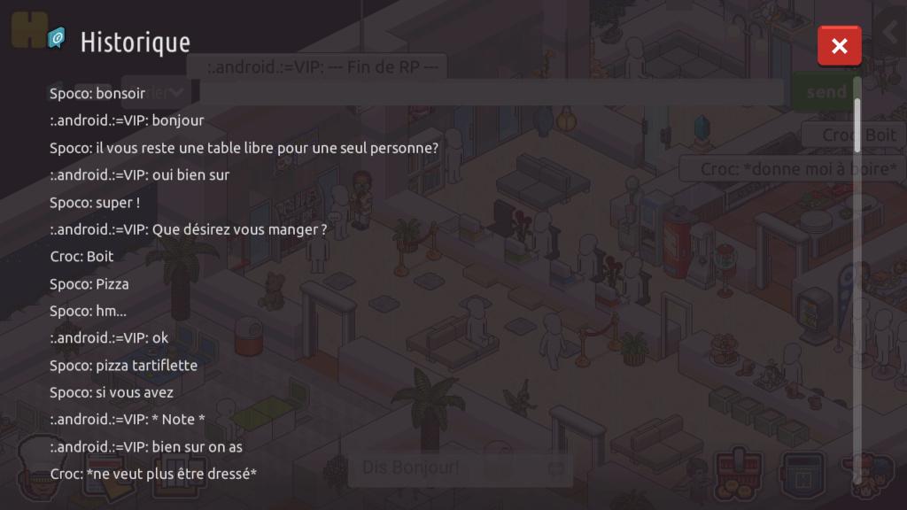 [R.] - Rapport de RP de :.android.:=VIP Screen77