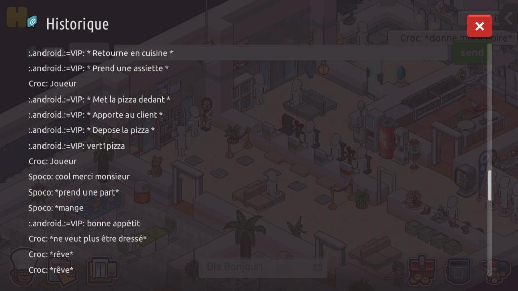[R.] - Rapport de RP de :.android.:=VIP Screen81