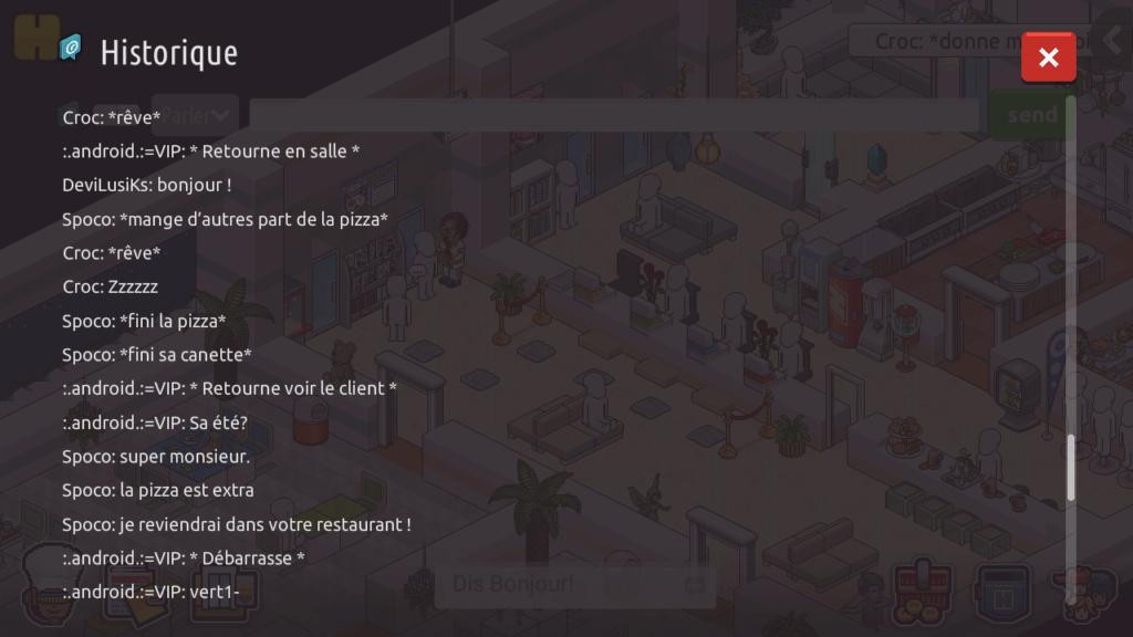 [R.] - Rapport de RP de :.android.:=VIP Screen82