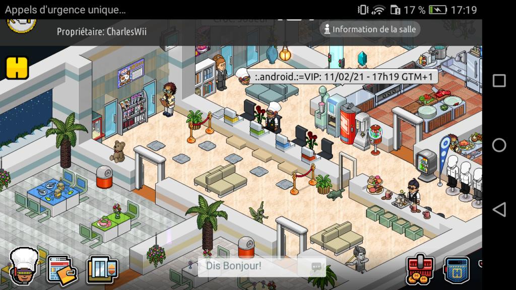[R.] Rapport d'activité de :.Android.:=VIP Screen85