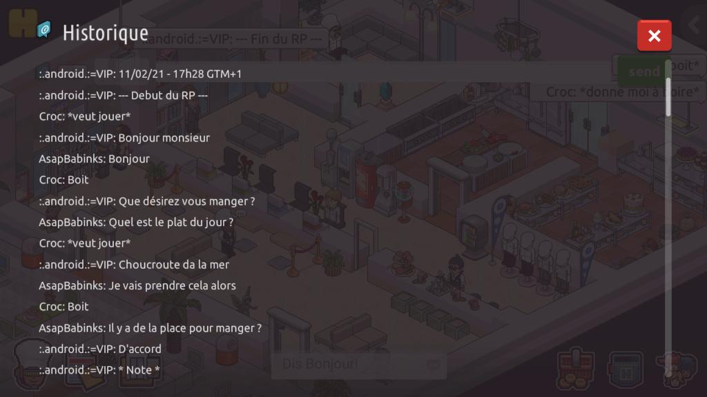 [R.] - Rapport de RP de :.android.:=VIP Screen86