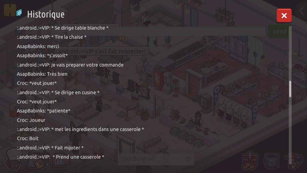 [R.] - Rapport de RP de :.android.:=VIP Screen89