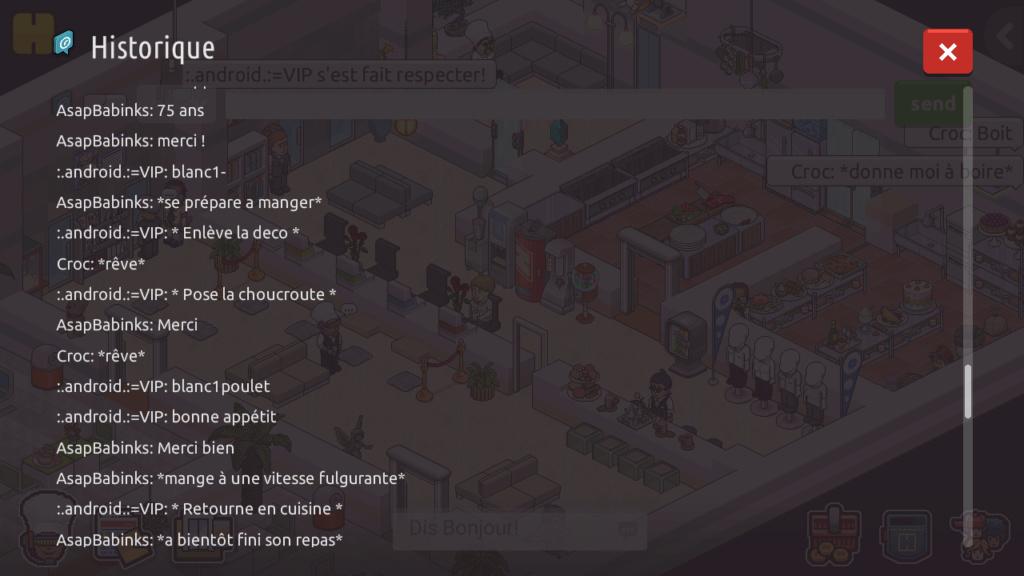 [R.] - Rapport de RP de :.android.:=VIP Screen91