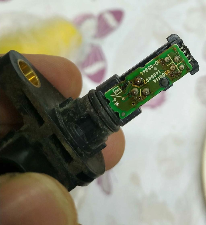 P1715 sensor de rotação de entrada. Secund10