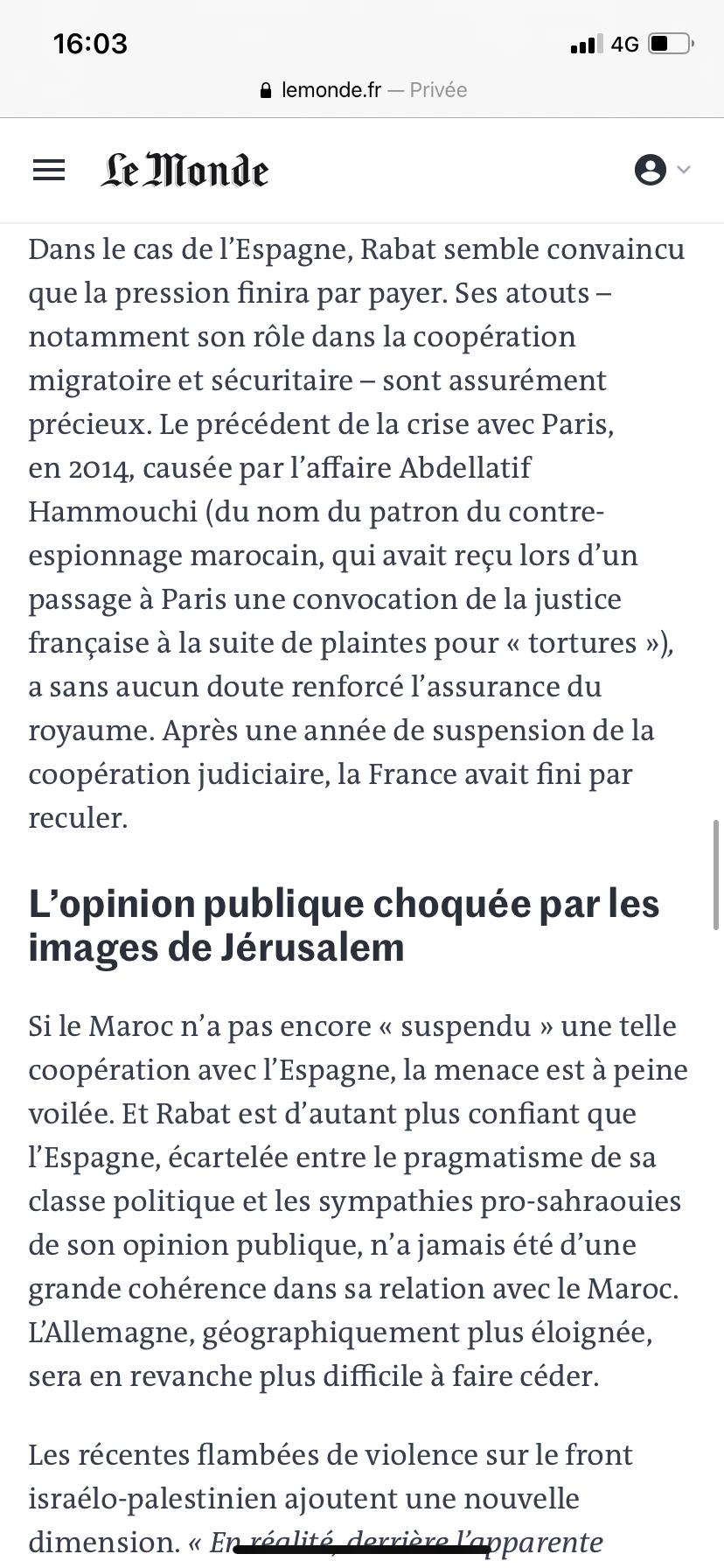 Diplomatie marocaine - Relations internationales 912