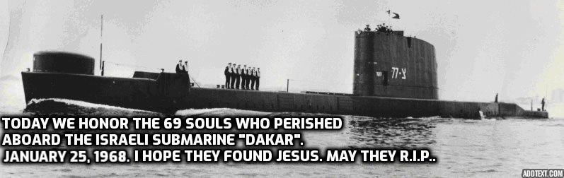 In Honor of INS DAKAR submarine Addtex11
